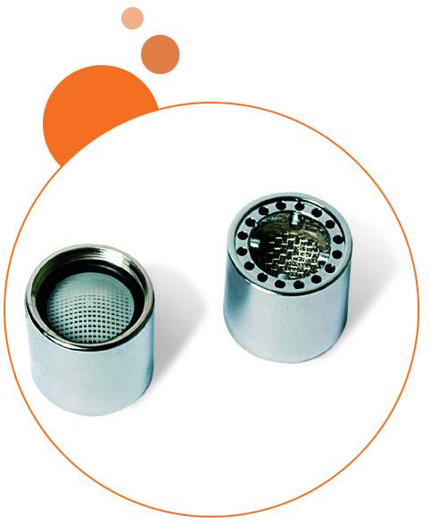 filtro adattatore per montaggio al rubinetto